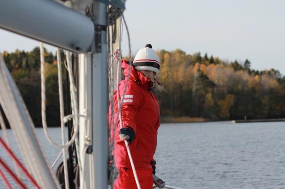 Varför tar alla upp sina båtar på hösten?