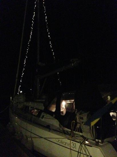 Båtdekoration Sandhamn