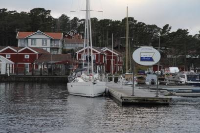 Förtöjd Sandhamn