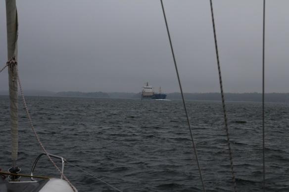 Mot Landsort möte fartyg