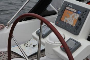 Navigation mot Vaxholm